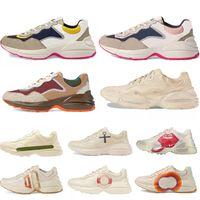 2021 أحدث حجر الريغتون أحذية رياضية الرجال مصمم أحذية مع الفراولة موجة الفم النمر ويب طباعة فاخرة خمر المدرب المرأة design6gh8 #