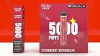 플렉스 맥스 오리지널 vape 카트리지 포장 QST 충전식 기화기 vapes 키트 5000 퍼프 프리 쿼리 12ml 12 색 펜 정품 vs 퍼프