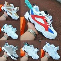 الرجال والنساء الأحذية عارضة الأزياء colorblock m2k أحذية رياضية الذكور مريح المدربين عدم الانزلاق حجم 36-44