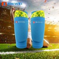 Futbol Shin Guard Ayak Çorap Çift Katmanlı Çocuk Yetişkin Öğrenci Futbol Çorap Sabit Şaft Koruma Spor Yarışması Dirsek Diz Pedleri