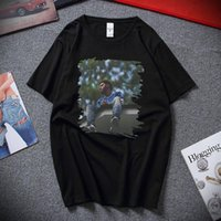 T-shirts pour hommes J. Cole 2014 Forest Hills Drive Classic Fan T-shirt Hip Hop Top Harajuku Streetwear Coton Sleeve Sleeve SCP