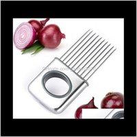 أدوات الخضار الفاكهة الفولاذ المقاوم للصدأ الفواكه القاطع أداة الكمال الطماطم البطاطا البصل القطاعة الليمون قطع حامل i6o4s hgwym