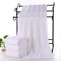 Towel Large White Bath Thickened Cotton And Beauty Therapeutic For Salons Or Els