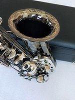 جودة ألمانيا JK SX90R Keilwerth ساكسفون ألتو الأسود النيكل ساكس النحاس الآلات الموسيقية مع حالة مذكرة التفاهم
