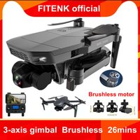 Fitenk SG907 Max Camera Drone Met 5G Wifi 4K Hd 3-Axis Gimbal Fpv Professional Rc helicopter Quadcopter Dron Pk SG906 Pro2