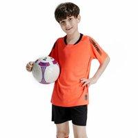 Criança Crianças Futebol Jersey Conjuntos Personalizado Nome Número Sobrevetimento Equipe Uniformes Kits Boys Football Jerseys Kit de Esportes Ternos de Treinamento