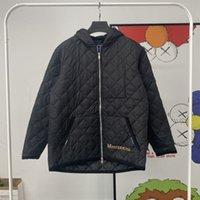 Mastermind MMJ Skeleton Embroidered Gingham Light Jacket Trend Men Women Lightweight Cotton Jackets Autumn Winter Coat
