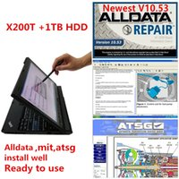 Alldata 2021 hot v10.53+mit 2015 + atsg 2017 auto repair soft-ware in 1tb hdd installed x200t laptop ready use