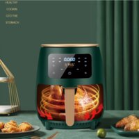 4.5L Oil-free Smart Fryer Home Cooking Micro Cyclone Household Electric Fryers Oven