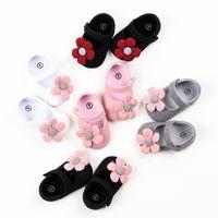 New1 Pair Moda Baby Girls Linda dibujos animados antideslizante algodón Socks Socks First Walker Shoes para Bebé recién nacido 0-18 Months 1382 Y2