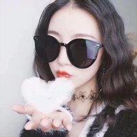 Женщины Brand Designer Солнцезащитные очки Корея Классический Нежный Монстр Квадратный Рамка Солнцезащитные Очки Мода Женские Мужчины Cool GM