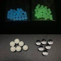 Accessori narghilli 4mm 6mm 8mm Quarzo TERP Perle Inserire luminosa incandescente blu verde chiaro perla per le unghie Banger Glass Bongs DAB STRS