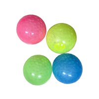 Explosive Adhesive Target Ball Top Ball Glow-in-the-dark Red Parent-child Extrusion Vent Fun Children's Decompression Toy Party Favor