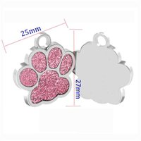 Anti-Lost-Welpen-Hund-ID-Tag personalisierte Hunde Katzen-Name-Tags-Halsband-Halsketten Gravierte Haustier-Namensschild-Zubehör KKB6988