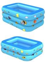 풀 액세서리 야외 아기 어린이 접는 풍선 수영 대형 3 층 아이 물 놀 패딩 욕조 장난감 선물
