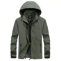 Designer Mens jacket Filmy Design Spring Autumn High-quality Pocket Zipper Hooded Pattern Windbreaker Coat Thick Outdoor Sports Hoodie