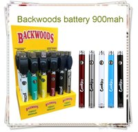 2021 Cookies Backwoods Twist Pre-heat VV Battery 900mAh Bottom Voltage Adjustable Usb Charger Vape Pen 30Pcs with Display Box vs law 0270005