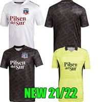 2021 2022 Colo Colo Futbol Formaları Eve Uzakta Kaleci Sarı Falcon Blandi Suazo Campos 21 22 Opazo Futbol Gömlek En Kaliteli S --- XXL Set Man Gömlek Tayland