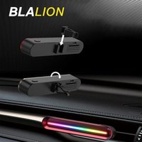 Interior&External Lights BLALION 1 2 Packs Car Diffuser Vent Clip Air Fresheners Fragrance With LED Atmosphere Lighting Decorat