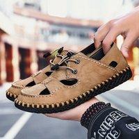 Olomh الصيف الرجال الصنادل ضوء تنفس أحذية الشاطئ الأصلي zapatos دي hombre الكبار جودة عالية الرجال عارضة الأحذية الأحذية المسطحة إسفين a6yu #