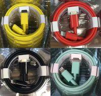 OEM الجودة متعدد الألوان 1M 3FT USB كابلات الألوان نوع C إلى البرق كابل شحن سريع كابل PD شاحن سريع لشاحن ايفون 12 11 برو ماكس x 8 7 Samrt الهواتف