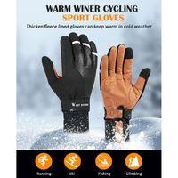 Cycling Gloves WEST BIKING Full Finger Touch Screen Anti Slip Anti- Bike Bicycle Dustproof Motorcycle Sports