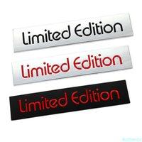 3D Metal Car Sticker Limited Edition Emblem Badge Decal for Lexus Audi Honda Opel Toyota Chevrolet Hyundai Auto stickers