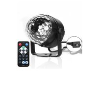 3W Mini LED Effects RGB Crystal Magic Sound Activated Disco Ball Stage Lamp Lumiere Christmas Laser Projector CRESTECH