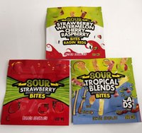 DGFG Warheads 600 mg Şeker Caribo Gummy Çanta Buhadeleri Ekşi Yerler Ambalaj CannAvst 420 Mylar Çanta