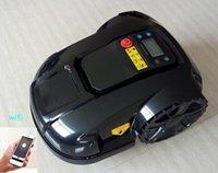 도난 방지 기능, 비 센서, 방수, 깍는 일정, LCD 디스플레이, 진공 청소기가있는 로봇 잔디 마우터 유리 커터