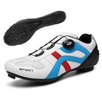 Homens Ciclismo Sapatos Mountain Bicicleta Ao Ar Livre Sapatilha Ciclismo MTB Auto-Bloqueio Unisex Racing Road Road Bicycle Sneakers Calçado
