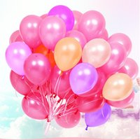 10Inch 2.2g Pearl Latex Balloons Wedding Anniversary Birthday Party Decoration Adult Balloon Festival Decor Supplie1st