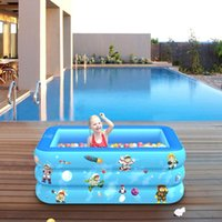 Outdoor Children Inflatable Swimming Pool Summer Party Family Water Play Center Multi-Layer Toy For Kids And Adult Floats & Tubes