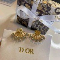 D Fan Family Fan Pendientes de CD de Pearl Natural Plateado Gold ST High Edition Classic Star of Dijia