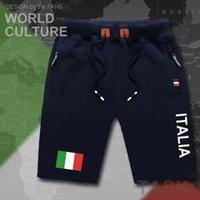 Shorts Italy Italia Italian Mens Beach Men's Board Flag Workout Zipper Pocket Sweat Bodybuilding Ita Country Tops