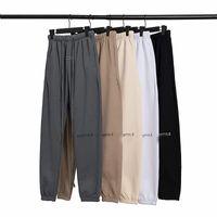 2021 Essentials com calças reflexivas homens mulheres desenhador longo calça primavera esportes outono correndo corredor oversize tracksuit