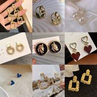 2021 New 925 Pure Sier Needle Earrings Women's Fashion Korean Simple Advanced Sense Temperament Earrings Accessories
