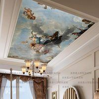 Wallpapers Custom Mammoth Mural Sofa Roof Background 3D For Living Room Bedroom Fashion Ceiling Oil Painting Po Wall Paper