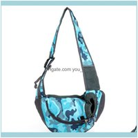 Car Seat Ers Home & Gardenpet Crossbody Bag Multifunction Portable Single Shoulder Carrier Bags For Dog Cat Travel Breathable Mesh Backpack