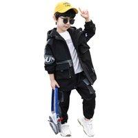 Abbigliamento per ragazzi Vestiti sportivi Casual Boys Abbigliamento set 2020 Nuova Moda Autunno Due pezzi Bambini Outfit Bambini Tracksuit Vestiti Set 925 V2