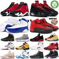 gimnasio Rojo 14 14s Hyper Real Negro Zapatos de gamuza Fusión Varsity Red Retro baloncesto de los hombres último golpe trueno DMP las zapatillas de deporte