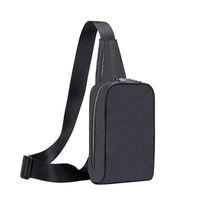 Bolso de pecho clásico de los hombres Bolso de alta calidad Hombres de moda Sling Cross Body Messenger Bags 4 colores al aire libre Mujeres cintura bolsos Pack Bolsas de cinturón