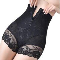Women's Shapers Women Shaper Trainer High Waist Body Zip Panties Tummy Belly Control Slimming Wholesale Shapewear Girdle Underwear Fast