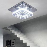 Ceiling Lights Modern Crystal Lighting Led Light Lustre For Room Hallway Bathroom Kitchen Lamp Fixture