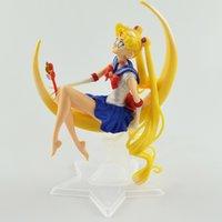 Новый моряк Moon Queen Tsukino USAGI Действие Рисунок ПВХ Торт Коллекция Кукла Модель Игрушки Brinquedos Для Рождества Подарок