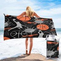 Towel Bathing Basketball Sports Basket Balls Player Bath Wearable Dress Fast Drying Beach Spa Magical Nightwear Sleeping