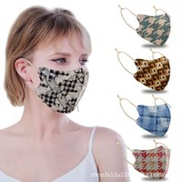 Masken Herbst- und Winterwildleder-Baumwolle-Baumwoll-dreidimensional staubfestes warmes Gittermodus für Männer und Frauen