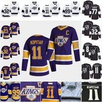2021 LA LOS ANGELES KING ROWN Retro Jersey Hockey Quinton Byfield Dustin Marron Jeff Carter Drew Doughty Anze Kopitar Jonathan Quick Spenc