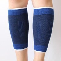 Elbow & Knee Pads 1 Pair Leg Support Sleeve Elastic Compression Bandage Pain Relief Sports Cycling Wrap Sport Protection