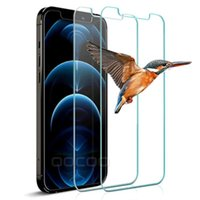 2.5D HD Transparent Screen Protector For Iphone 12 Mini 11 Pro X XR XS MAX 6 7 8Plus Full Glue Tempered Glass Clear Samsung Galaxy S20 FE S21 Plus Factory price